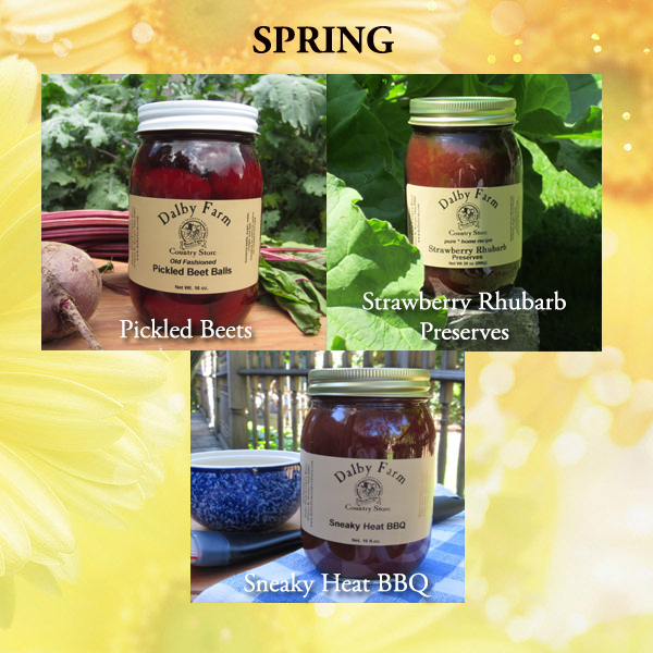 All natural Spring flavors subscription service