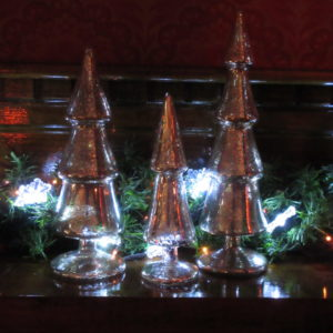 Mercury Glass Tree holiday decor