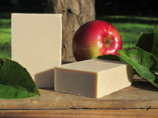 Apple orchard goat milk soap