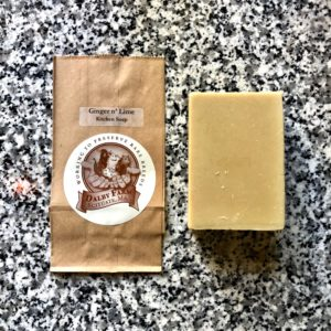 ginger lime kitchen goat milk soap