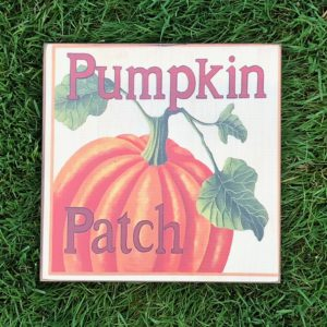 pumpkin patch box sign